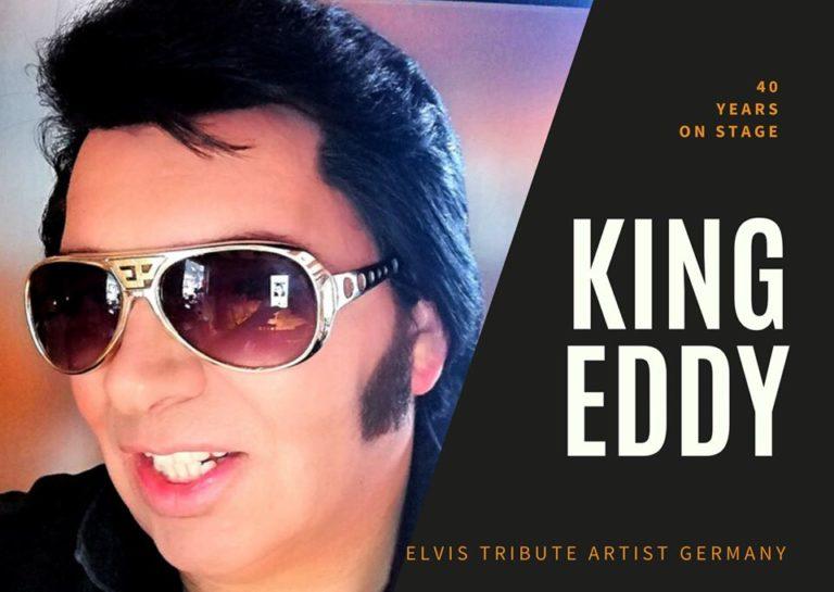 Elvis (a)live Show-Elvis Imitator-Elvis -Elvis Tribute-Elvis Sänger-Elvis Stimme-Elvis Darsteller-Elvis Show-Deutschland King Eddy - Profi Live Band-Tribute Show Künstler-Duo Musiker Sänger für Events, Show- & Unterhaltungskünstler für Feier, Events, Veranstaltung buchen oder engagieren