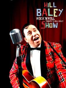 Hill Baley - Bill Haley Rock n Roll Tribute Show Profi-Sänger für 50s und 60s Event, Feier, Geburtstag, Hochzeit, Fifties Partys, Oldtimer-Treffen buchen. Bill Haley Double, Doppelgänger. Der besondere Liveact. Gehen Sie mit Hill Baley dem Bill Haley Tribute Artist auf eine Zeitreise in die wilden fünfziger Jahre. Hill Baley's Rock'n'Roll Show ist der Legende Bill Haley gewidmet! Der Vater des Rock'n'Roll veränderte mit seinem Sound die Musikgeschichte. Hill Baley singt die großen Hits wie: Rock around the clock, See you later aligator, Shake rattle and roll und viele mehr...Rockabilly - RockNroll - Rock'n'Roll - Oldies Sänger buchen